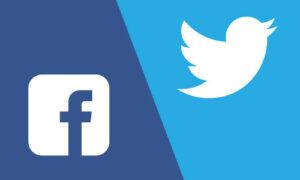 Comparación del alcance de Facebook y Twitter