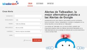 Talkwalker Alerts te ayudan a monitorear Internet