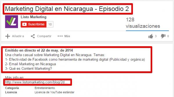 Marketing Digital en Nicaragua - Episodio 2 - YouTube