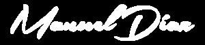 manuel diaz logo blanco